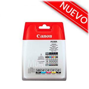 cartucho tinta canon 580 581