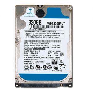 "disco duro mecanico hdd 320gb 2.%"" SATA"