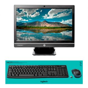 ordenador sobremesa hp compaq 6300 all in one teclado raton logitech