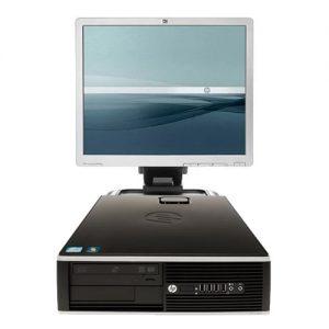 ordenador sobremesa hp compaq 8100 sff + monitor 19