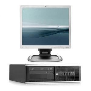 ordenador sobremesa hp compaq 8300 small form factor + monitor 19 pulgadas