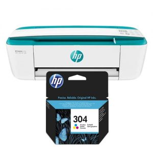 impresora hp deskjet 3762 a4 color + cartucho original hp 304 color