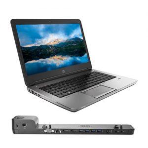 ordenador portátil hp probook 640 g1 dock station 2013 ultraslim hp