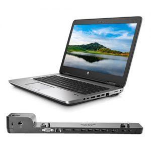 ordenador portátil hp probook 640 g2 dock station hp ultraslim 2013