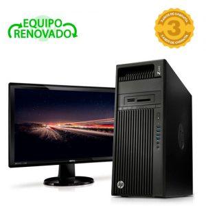 ordenador sobremesa hp z440 monitor 24