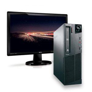"ordenador sobremesa lenovo thinkcentre m81 + monitor 24"" Benq GL2450"