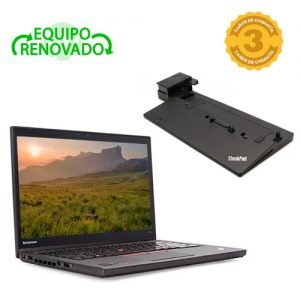 ordenador portatil lenovo thinkpad t450 dock station