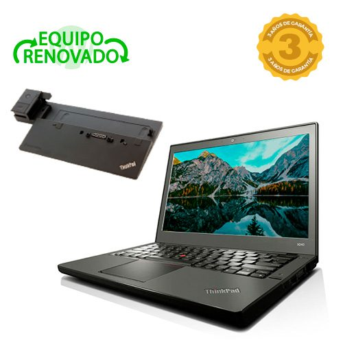 ordenador portatil lenovo thinkpad x240 dock station