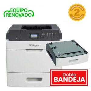 impresora lexmark ms811dn con doble bandeja