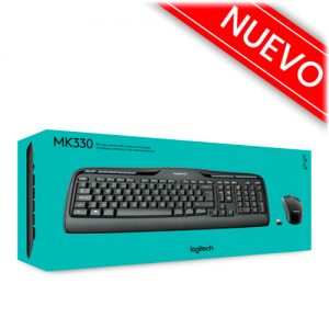 pack teclado y ratón logitech mk330