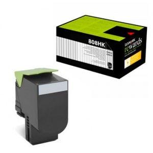 toner compatible lexmark 808hk