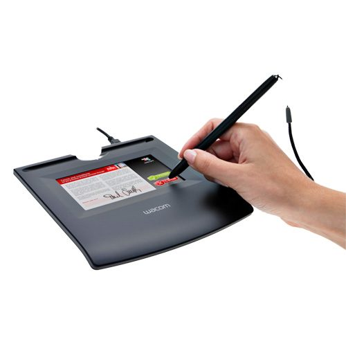 tablet de firma wacom stu 520